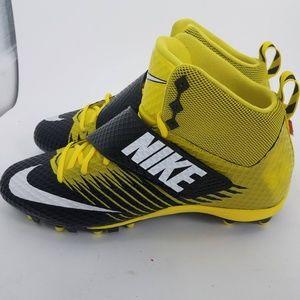 Nike LunarBeast Pro Football Cleats Sz 12 Yellow